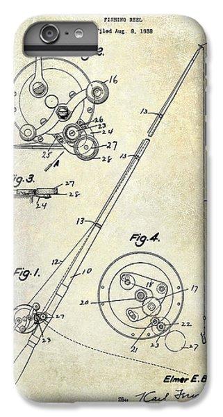 Fishing Reel Patent 1939 IPhone 6 Plus Case