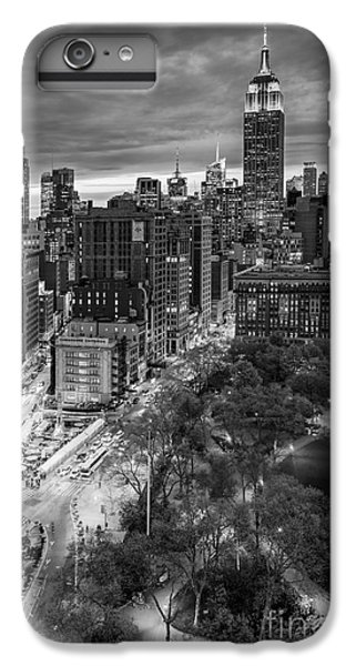 Flatiron District Birds Eye View IPhone 6 Plus Case by Susan Candelario