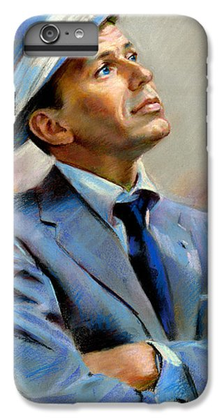 Frank Sinatra  IPhone 6 Plus Case by Ylli Haruni
