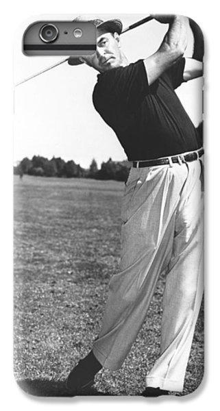 Golfer Sam Snead IPhone 6 Plus Case by Underwood Archives