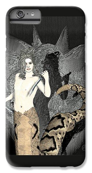Gorgon Medusa  IPhone 6 Plus Case by Quim Abella