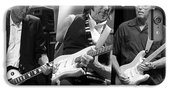 Guitar Legends Jimmy Page Jeff Beck And Eric Clapton IPhone 6 Plus Case