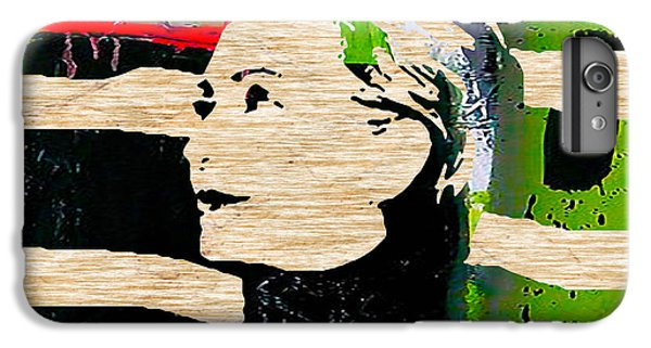 Hillary Clinton IPhone 6 Plus Case by Marvin Blaine