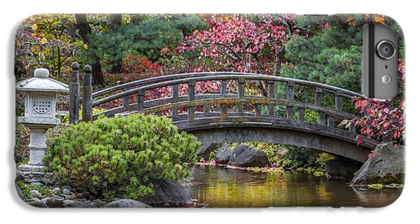 IPhone 6 Plus Case featuring the photograph Japanese Bridge by Sebastian Musial