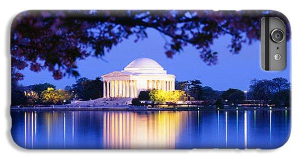 Jefferson Memorial iPhone 6 Plus Case - Jefferson Memorial, Washington Dc by Panoramic Images