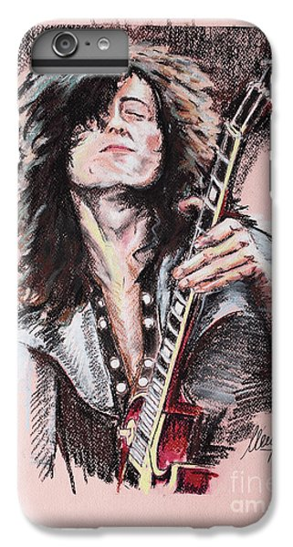 Rock Music Jimmy Page iPhone 6 Plus Case - Jimmy Page 1 by Melanie D