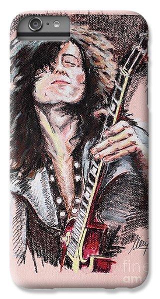 Jimmy Page IPhone 6 Plus Case by Melanie D