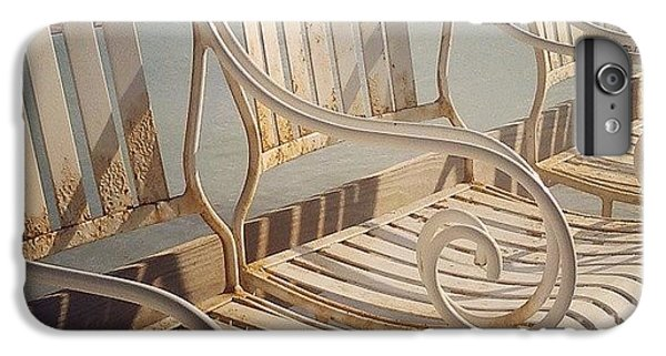 Decorative iPhone 6 Plus Case - Beach Bar Chairs by Dani Hoy
