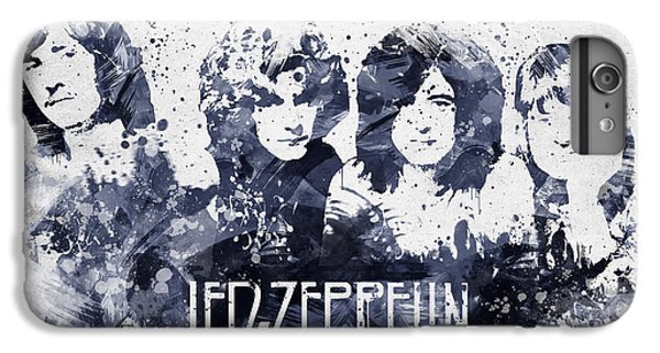 Led Zeppelin Portrait IPhone 6 Plus Case by Aged Pixel