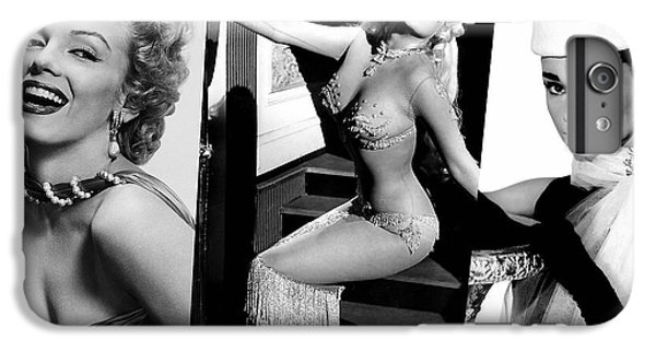 Legends Marilyn Monroe Jane Mansfield And Audrey Hepburn IPhone 6 Plus Case by Marvin Blaine
