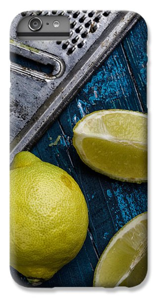 Lime iPhone 6 Plus Case - Lemon by Nailia Schwarz