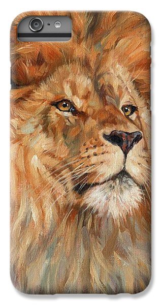 Lion IPhone 6 Plus Case by David Stribbling