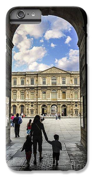 Louvre IPhone 6 Plus Case by Elena Elisseeva