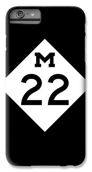 M 22 IPhone 6 Plus Case