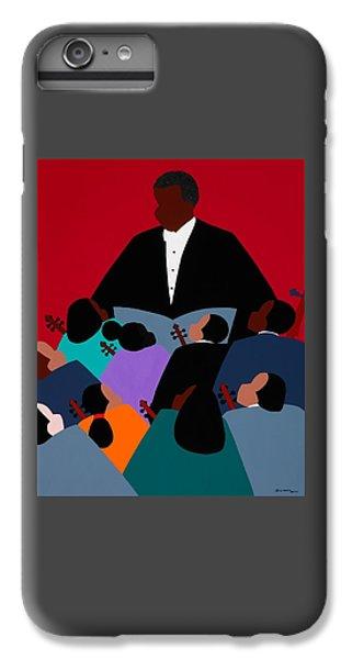 iPhone 6 Plus Case - Maestro by Synthia SAINT JAMES