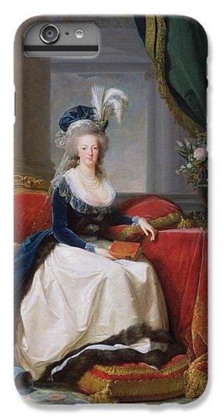 Marie Antoinette IPhone 6 Plus Case by Elisabeth Louise Vigee-Lebrun