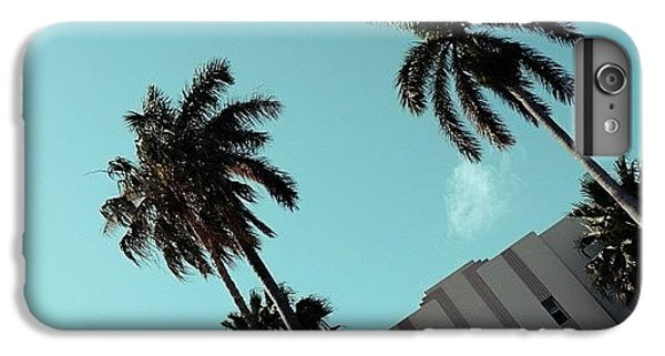 Iger iPhone 6 Plus Case - {miami Beach's Art Deco}  In 1979 by Joel Lopez