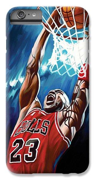 Michael Jordan Artwork IPhone 6 Plus Case by Sheraz A