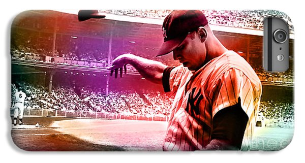 Mickey Mantle IPhone 6 Plus Case by Marvin Blaine