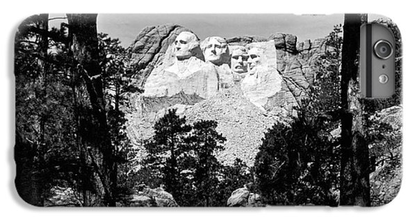 Mount Rushmore In South Dakota IPhone 6 Plus Case by Underwood Archives