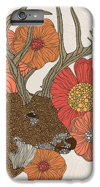 Deer iPhone 6 Plus Case - My Dear Deer by Valentina Ramos