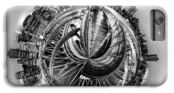 Brooklyn Bridge iPhone 6 Plus Case - Manhattan World by Az Jackson