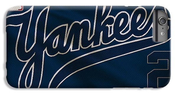 New York Yankees Derek Jeter IPhone 6 Plus Case by Joe Hamilton