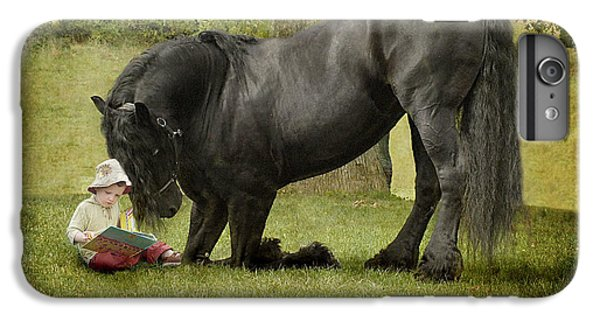 Horse iPhone 6 Plus Case - Once Upon A Time by Fran J Scott