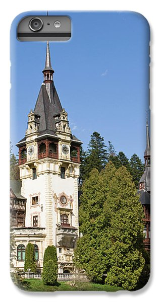Peles Castle, Sinaia, Carpathian IPhone 6 Plus Case by Martin Zwick