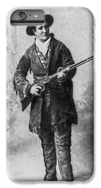 Portrait Of Calamity Jane IPhone 6 Plus Case by Underwood Archives
