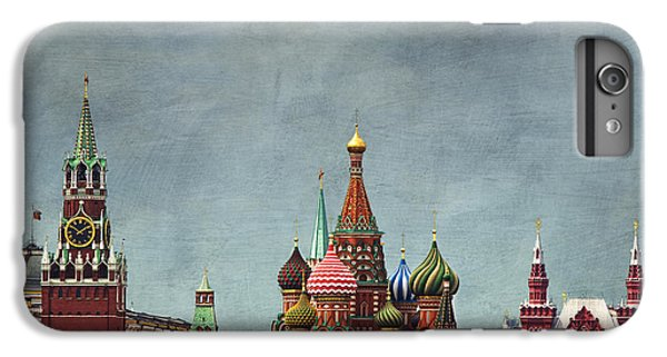 Moscow iPhone 6 Plus Case - Red Square Moscow by Elena Nosyreva