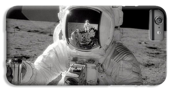 Astronauts iPhone 6 Plus Case - Reflecting by Jon Neidert