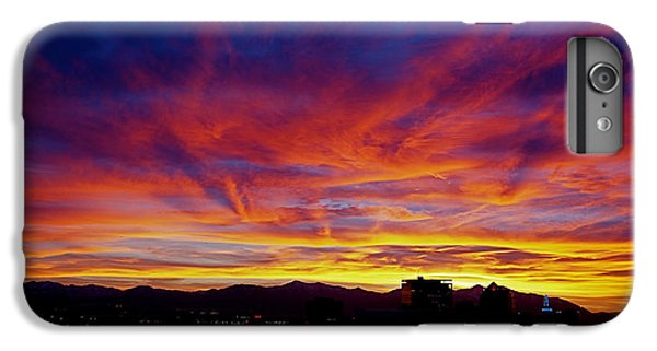 Salt Lake City Sunset IPhone 6 Plus Case