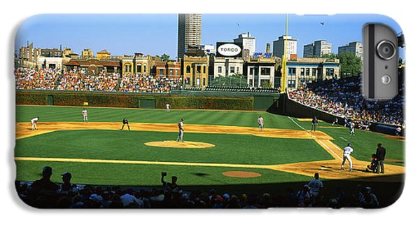 Spectators In A Stadium, Wrigley Field IPhone 6 Plus Case by Panoramic Images