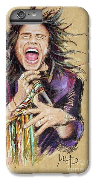 Steven Tyler  IPhone 6 Plus Case by Melanie D