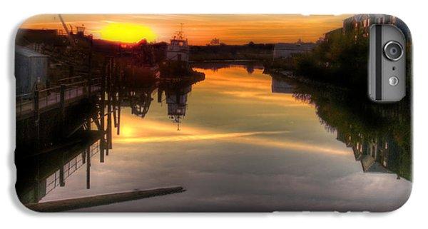 petaluma iphone 6 plus case sunrise on the petaluma river by bill gallagher
