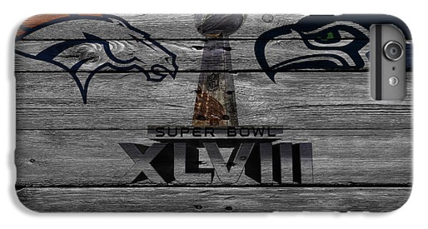 New York Mets iPhone 6 Plus Case - Super Bowl Xlviii by Joe Hamilton