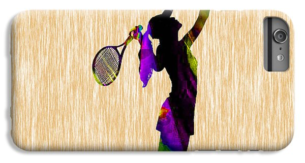 Tennis Match IPhone 6 Plus Case by Marvin Blaine