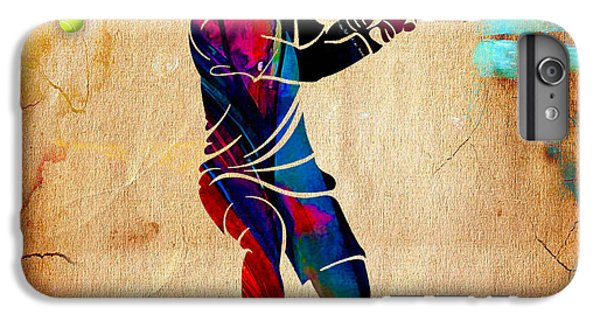Tennis Painting IPhone 6 Plus Case