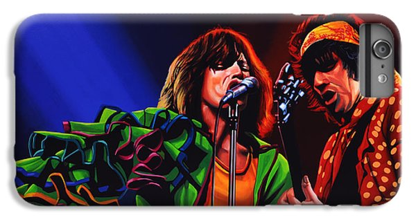 Rock And Roll iPhone 6 Plus Case - The Rolling Stones 2 by Paul Meijering