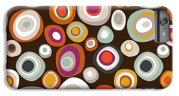 Veneto Boho Spot Chocolate IPhone 6 Plus Case by Sharon Turner