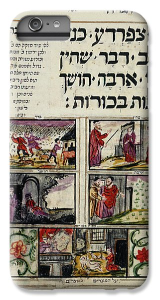 Grasshopper iPhone 6 Plus Case - Passover Haggadah by British Library