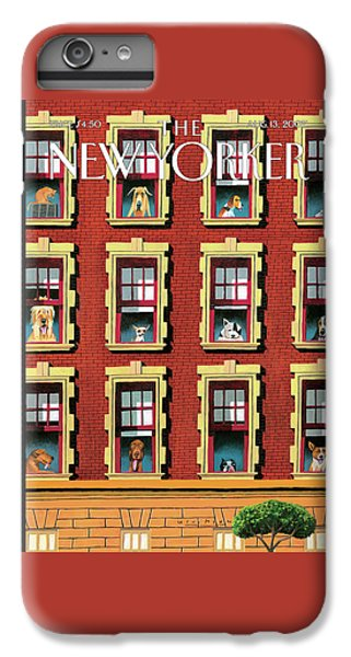 New Yorker August 13th, 2007 IPhone 6 Plus Case