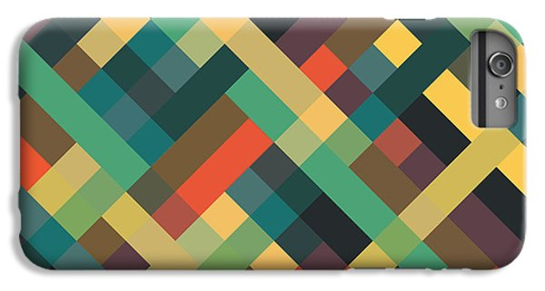 Fruit iPhone 6 Plus Case - Geometric by Mike Taylor