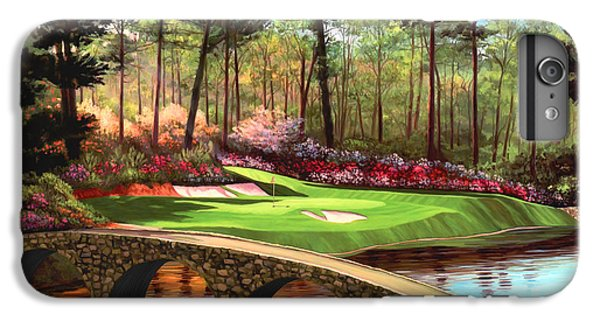 12th Hole At Augusta  IPhone 6 Plus Case by Tim Gilliland