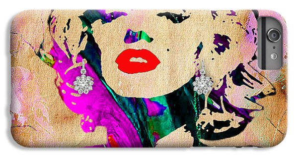 Marilyn Monroe Diamond Earring Collection IPhone 6 Plus Case