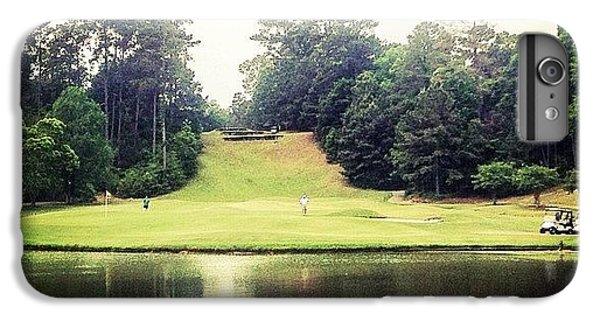 Sport iPhone 6 Plus Case - #17 The Bluffs #golf #iphone5 by Scott Pellegrin