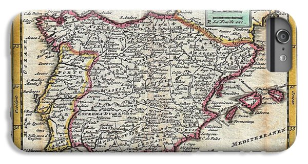 Map Of Northern Portugal And Spain.Northern Portugal Iphone 6 Plus Cases Fine Art America