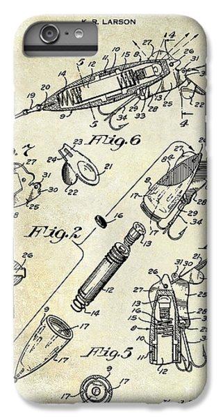 1940 Illuminated Bait Patent Drawing IPhone 6 Plus Case