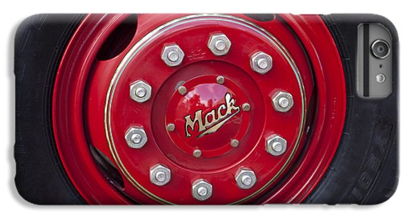 1952 L Model Mack Pumper Fire Truck Wheel IPhone 6 Plus Case by Jill Reger
